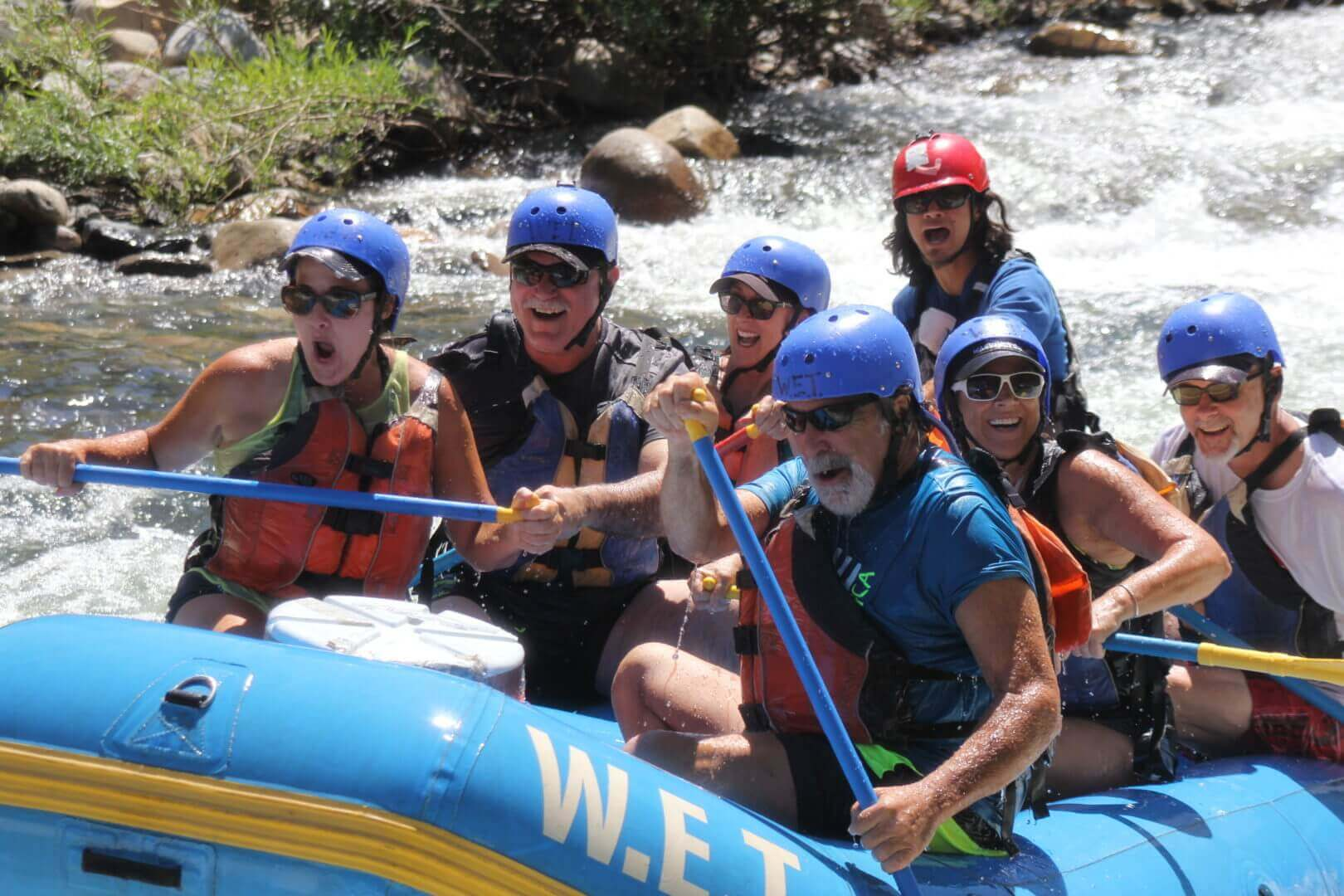 Whitewater rafting for the young and young at heart