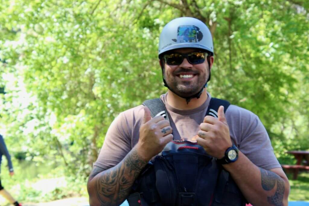 """Tyler """"Big T"""" one of the nicest guys your going to meet on the water."""